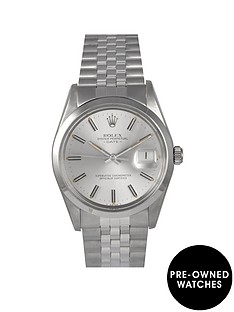 rolex-rolex-pre-owned-silver-date-dial-stainless-steel-bracelet-mens-watch-ref-15000