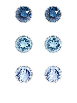 accessorize-3-pack-sterling-silver-mini-swarovski-stud-set-blue