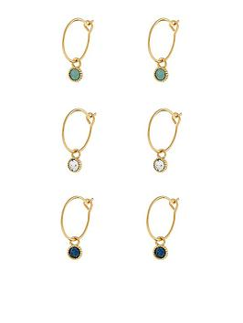 accessorize-3-packnbspswarovski-crystal-drop-hoops-multi