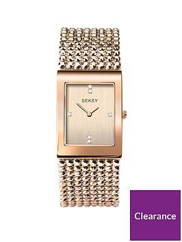 sekonda-seksy-carnation-gold-crystal-set-tank-dial-carnation-gold-stainless-steel-bracelet-ladies-watch