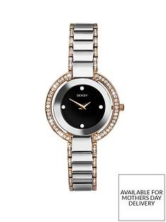 sekonda-seksy-black-crystal-set-and-rose-gold-detail-dial-two-tone-crystal-set-stainless-steel-bracelet-ladies-watch
