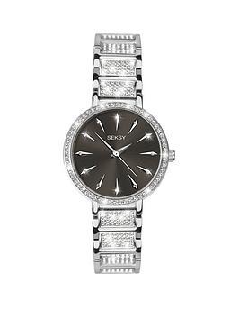 sekonda-seksy-black-crustal-set-dial-stainless-steel-crystal-set-stainless-steel-bracelet-ladies-watch