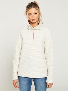 regatta-solenne-14-zip-fleece-top-vanillanbsp