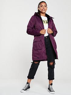 regatta-romina-long-line-jacket-plum