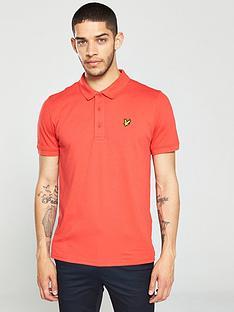 lyle-scott-golf-lyle-amp-scott-golf-polo-shirt-poppy-red