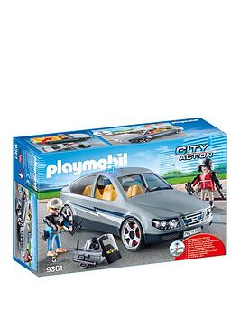 PLAYMOBIL Playmobil Playmobil City Action Swat Undercover Car With  ... Picture