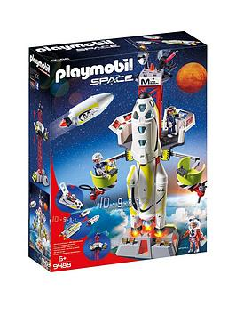 PLAYMOBIL Playmobil Playmobil 9488 Space Mission Rocket With Launch Site  ... Picture