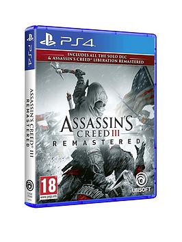 Playstation 4 Playstation 4 Assassins Creed Iii Remastered - Ps4 Picture