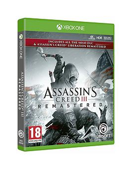 Xbox One Xbox One Assassin'S Creed Iii Remastered Picture