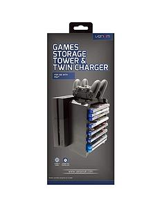 venom-ps4-games-storage-tower-and-twin-charger