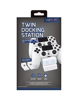 venom-white-twin-ps4-controller-charge-dock