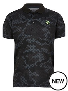 river-island-mini-boys-camo-polo-shirt-black