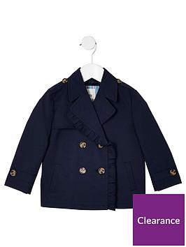 river-island-mini-girls-crop-trench-coat-navy