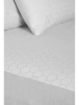 Hotel Collection Hotel Collection  Luxury 300 Thread Count Honeycomb 32 Cm  ... Picture