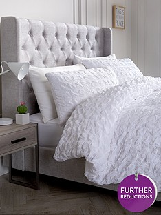 ideal-home-seersucker-cotton-duvet-cover-set