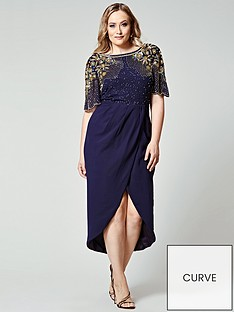 virgos-lounge-curve-virgos-lounge-curve-w-embellished-wrap-midi-dress