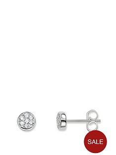 thomas-sabo-thomas-sabo-sterling-silver-cubic-zirconia-circle-stud-earrings