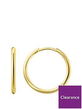 thomas-sabo-thomas-sabo-18k-gold-plated-sterling-silver-huggie-hoop-earrings-m