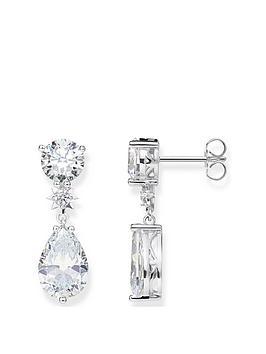 thomas-sabo-thomas-sabo-sterling-silver-cubic-zirconia-drop-earrings
