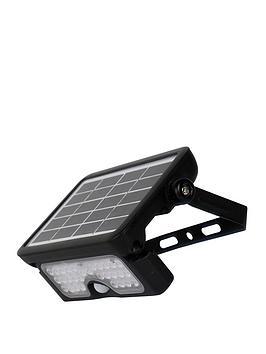 Luceco Luceco Solar Guardian Pir Floodlight Black Ip65 5W 550Lm 4000K Picture