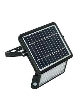 Luceco Luceco Solar Guardian Pir Floodlight Ip65 10W 1080Lm 4000K - Black Picture