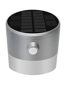 Luceco Luceco Solar Guardian Pir Wall Lantern Ip44 200Lm 2W 4000K - Grey Picture