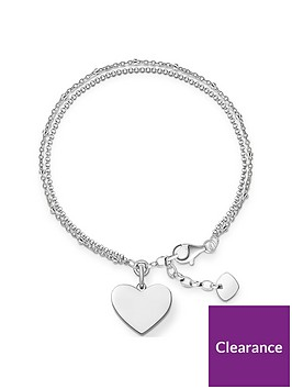 thomas-sabo-thomas-sabo-sterling-silver-double-row-heart-bracelet