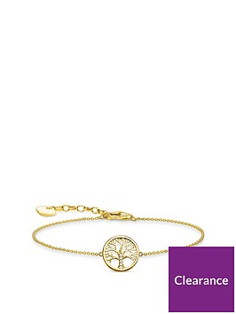 thomas-sabo-thomas-sabo-18k-gold-plated-silver-cubic-zirconia-tree-of-life-bracelet