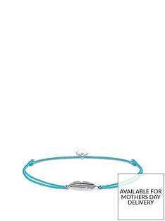 thomas-sabo-thomas-sabo-little-secrets-sterling-silver-feather-blue-adjustable-bracelet