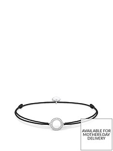 thomas-sabo-thomas-sabo-little-secrets-sterling-silver-cubic-zirconia-circle-black-adjustable-bracelet