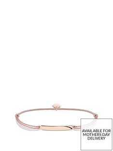 thomas-sabo-thomas-sabo-little-secrets-18k-rose-gold-plated-sterling-silver-bar-pink-adjustable-bracelet