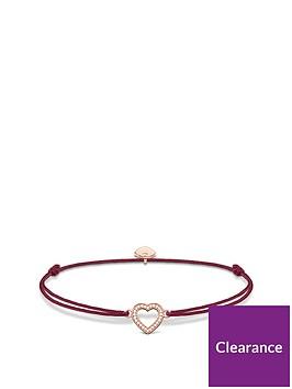 thomas-sabo-thomas-sabo-little-secrets-18k-rose-gold-plated-sterling-silver-heart-red-adjustable-bracelet