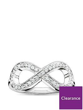 thomas-sabo-thomas-sabo-sterling-silver-cubic-zirconia-infinity-ring