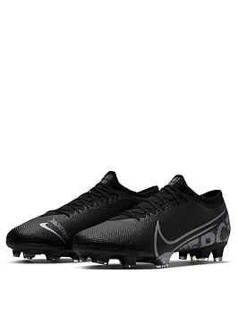 Nike Nike Mercurial Vapor 13 Pro Firm Ground Football Boots - Black Picture