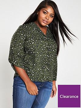 v-by-very-curve-animal-print-blouse