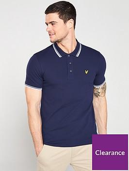 lyle-scott-tipped-polo-shirt-navy
