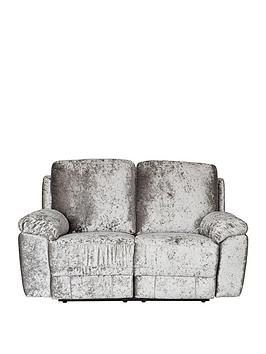 Very Castille Fabric 2 Seater Manual Recliner Sofa Picture