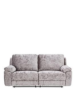 Very Castille Fabric 3 Seater Manual Recliner Sofa Picture