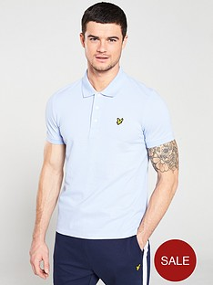 lyle-scott-plain-polo-shirt-lilac