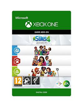 Xbox One Xbox One The Sims 4 Bundle: Cats &Amp; Dogs, Parenthood, Toddler  ... Picture