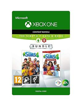 Xbox One Xbox One The Sims 4 &Amp; Cats And Dogs Bundle - Digital Download Picture