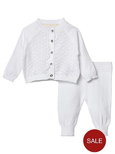 river-island-baby-baby-girls-knitted-pointelle-set-cream