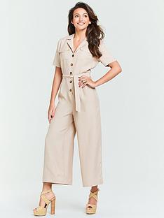 michelle-keegan-casual-linen-culotte-jumpsuit-stone