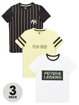 v-by-very-boys-3-pack-future-legends-t-shirts-multi