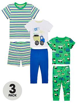 v-by-very-boys-3-pack-digger-pjs-multi