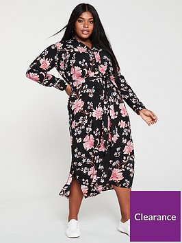 v-by-very-curve-viscose-printednbspmidaxi-dress-floral