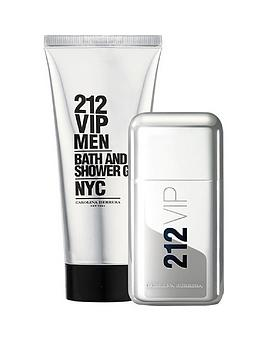 carolina-herrera-carolina-herrera-212-vip-mens-50ml-eau-de-toilette-75ml-shower-gel-gift-set