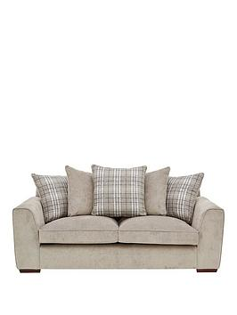 Very Campbell Fabric 3 Seater Scatter Back Sofa Picture