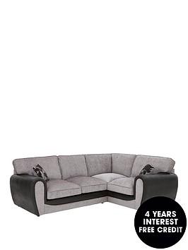 fleurnbspfabric-and-snakeskin-right-hand-corner-group-standard-back-sofa