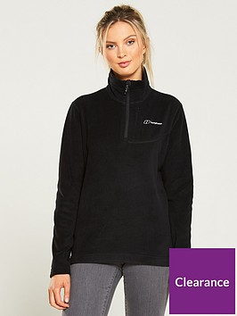 berghaus-prism-micro-14-zip-fleece-jacket-black